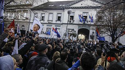 Seselij freed from The Hague and given hero's welcome in Belgrade