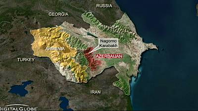Armenia says Azerbaijan shot down military helicopter