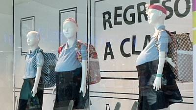 Pregnant mannequin display shocks shoppers in Venezuela
