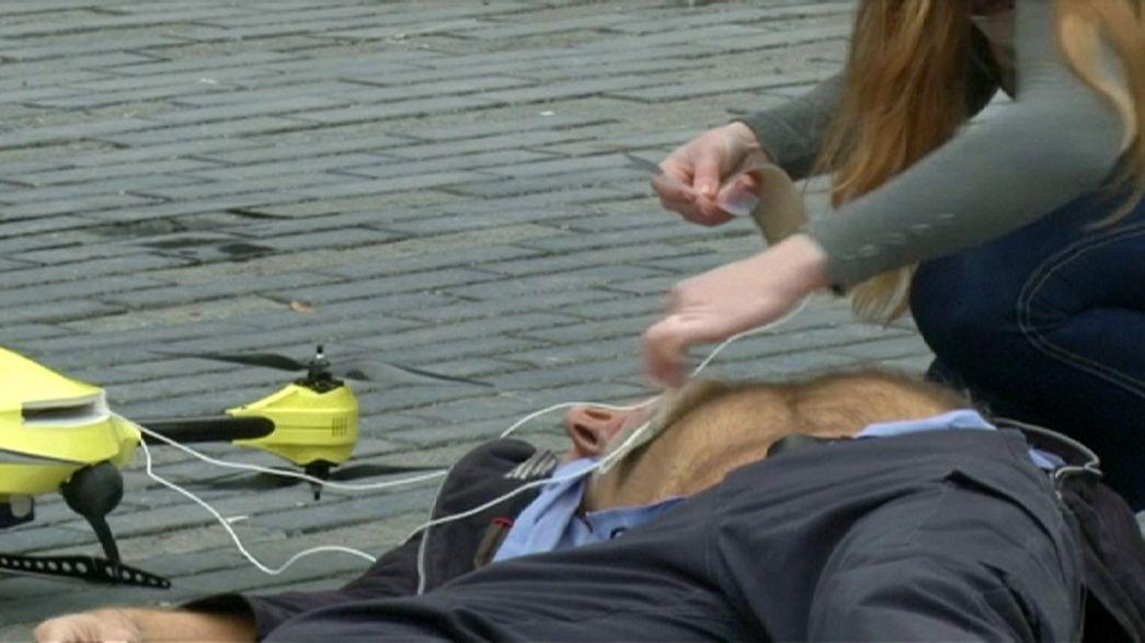 """""""Drones"""": Eles vigiam, matam e tiram fotos... mas também salvam vidas"""