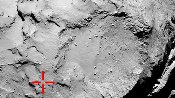 """Учёные пытаются определить точное местонахождение зонда """"Филы"""" на комете"""