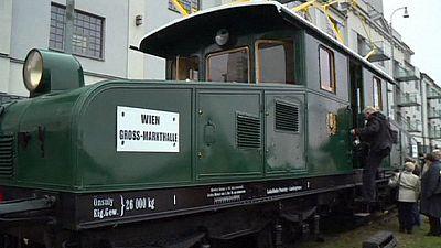 Historic Vienna-Bratislava tram is recreated