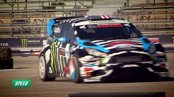 Ken Block: O rei da gincana brilha em Speed