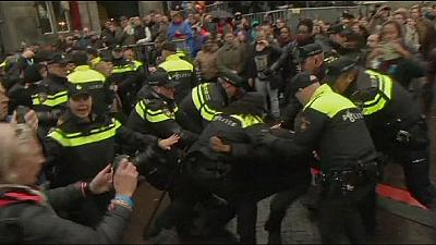 Netherlands: Dozens arrested at 'Black Pete' protests