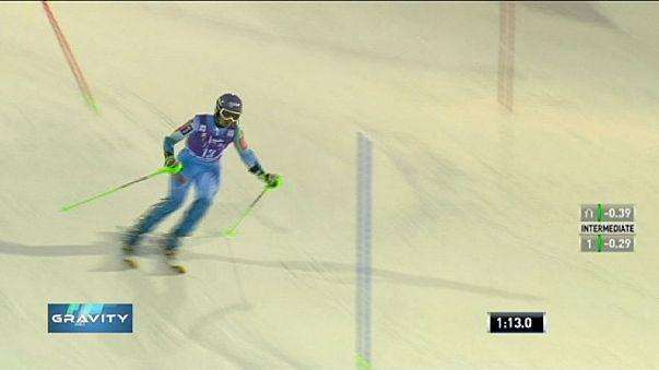Kristoffersen and Maze win slalom openers in Levi