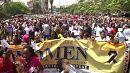 Marcha pelos direitos das mulheres no Quénia