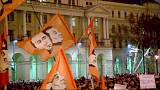 Hungarians hold 'public outrage day' protests