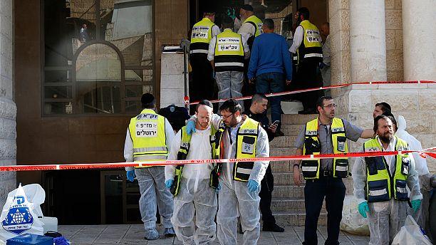 Anschlag auf Synagoge in Jerusalem: Angreifer töten vier Betende