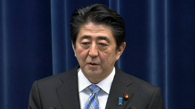 Japanese PM Abe calls early election