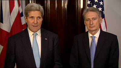 """Kerry condemns synagogue attack as """"an act of pure terror"""""""