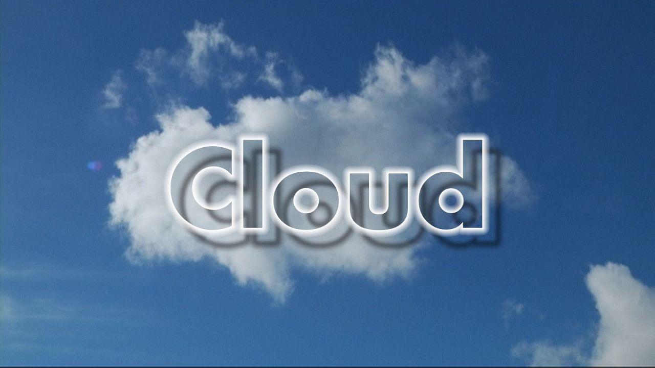 Il computer tra le nuvole
