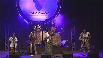 """""""Visa For Music"""", una plataforma internacional para artistas africanos y de Oriente Medio"""