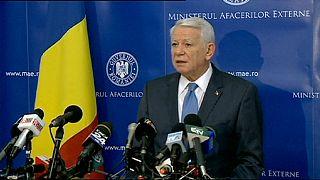 Roménia: Ministro dos Negócios Estrangeiros demite-se uma semana após tomar posse