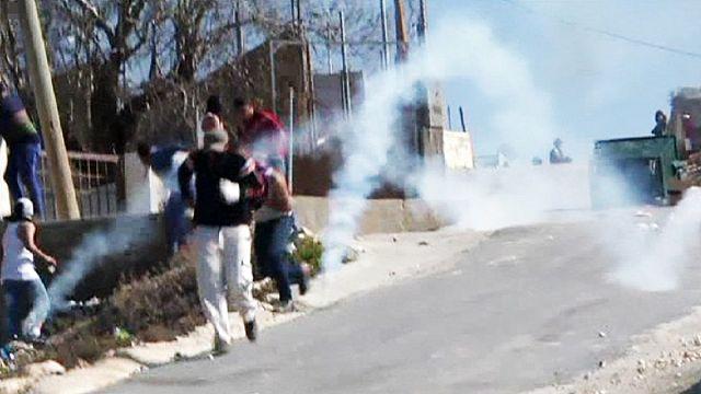 Новые столкновения палестинцев с полицией