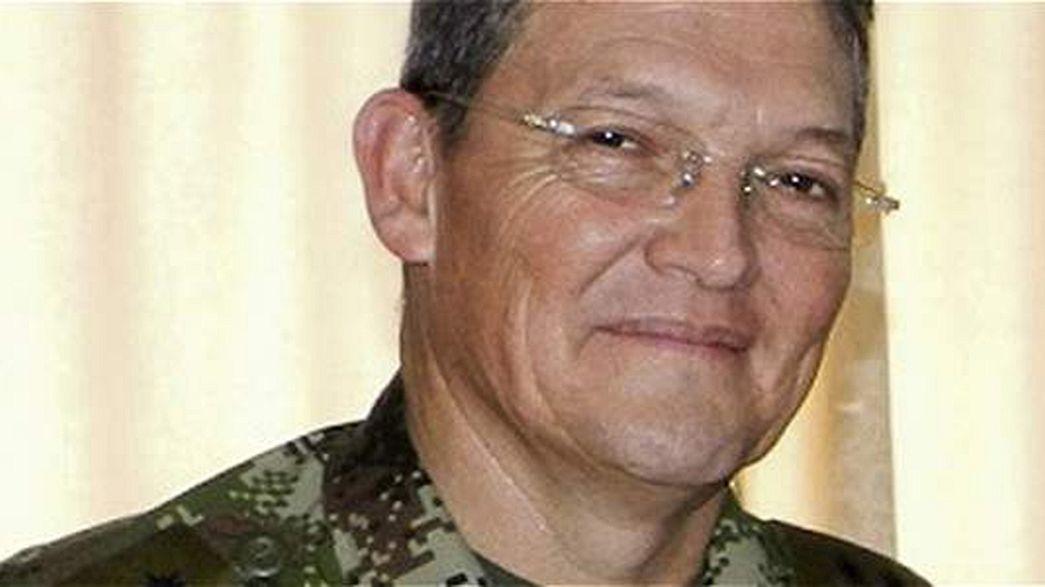 Una facción de las FARC confirma el secuestro del general Alzate