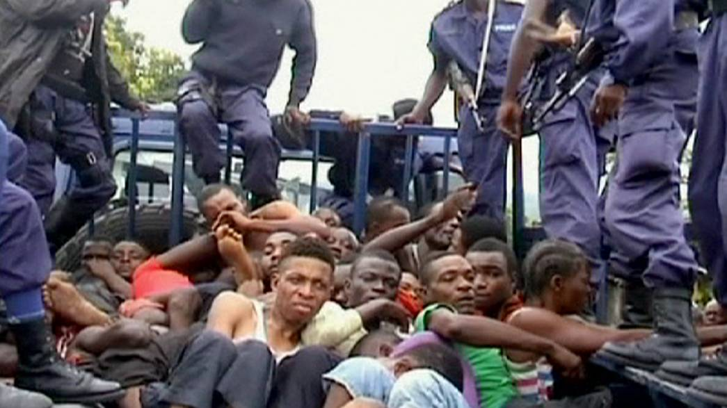 Rights group reports police 'abuses' in DR Congo