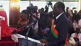 Burkina Faso, Michel Kafando giura come presidente a interim