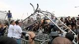 Barricades come down in Hong Kong