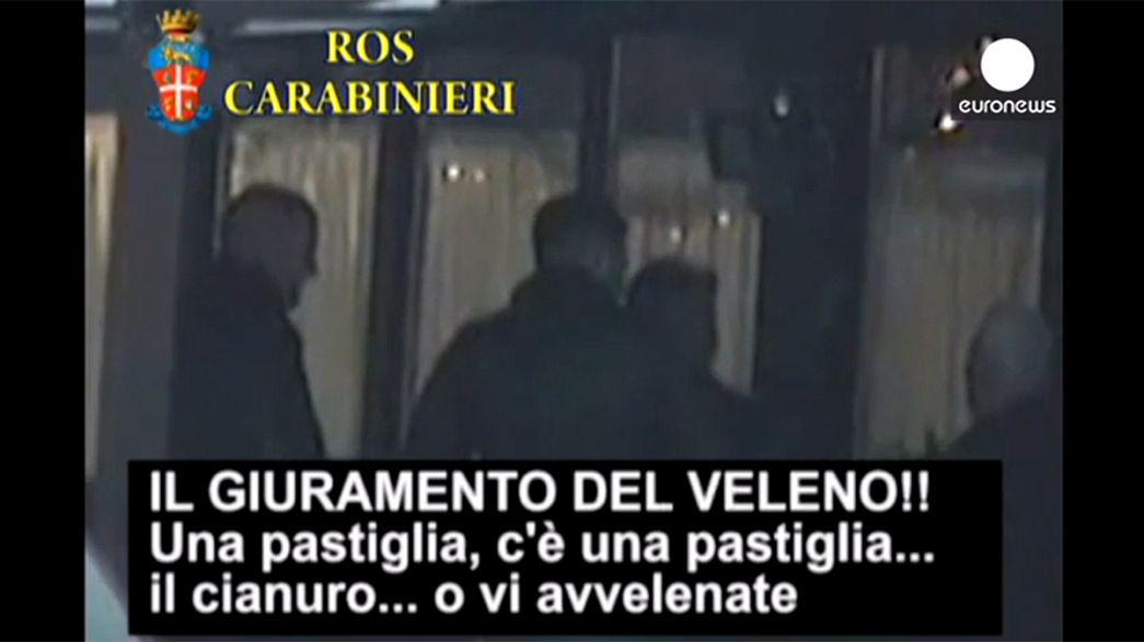 إلقاء القبض على العشرات من أعضاء المافيا في إيطاليا