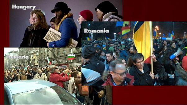 Nő az elégedetlenség a kelet-európai vezetőkkel szemben