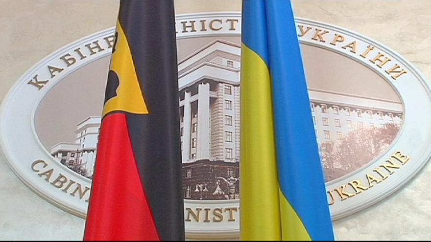 Ucrânia: Ofensiva diplomática alemã em Moscovo e Kiev