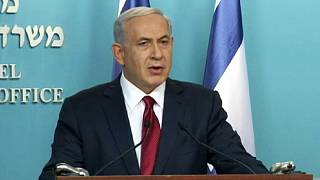 "Israeli Prime Minister Benjamin Netanyahu calls for ""deep indignation"" against synagogue killings"