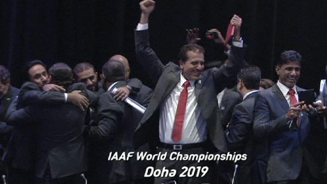 Atletica: in Qatar i Mondiali del 2019