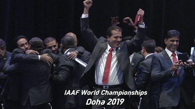 قطر تفوز باستضافة مونديال القوى 2019