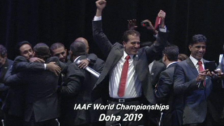 Katar zieht auch Leichtathletik-WM an Land