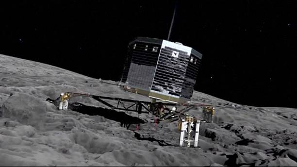 Philae finds organic molecules on comet