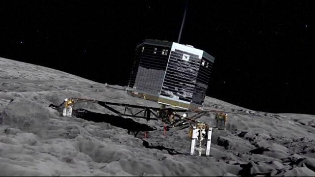 """Зонд """"Филы"""" обнаружил на комете органические вещества"""
