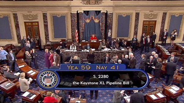 Leszavazta az amerikai szenátus az olajvezetéket