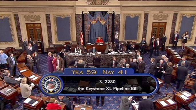 Keystone pipeline fails in Senate