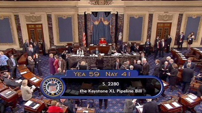 ABD Senatosu 'Keystone XL'i reddetti