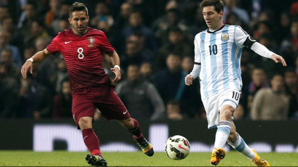 Portugal and Germany enjoy friendly wins