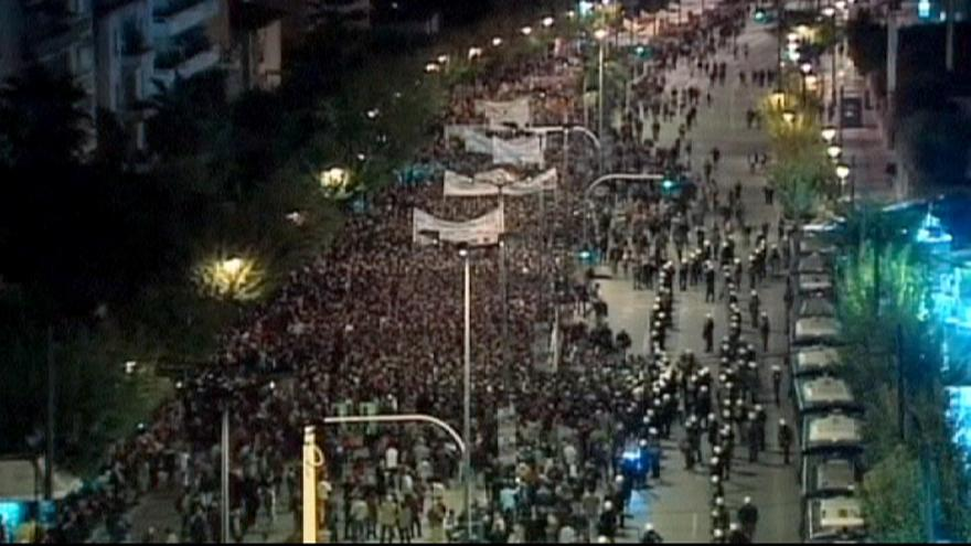 Minor disturbances at Greek uprising anniversary