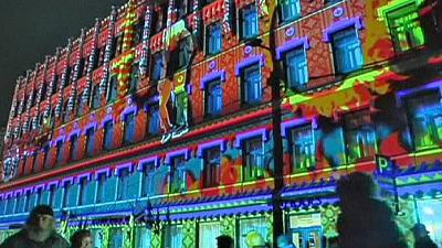 Latvia celebrates 2014 light festival – nocomment