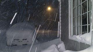 Stati Uniti sotto la neve: emergenza nello Stato di New York