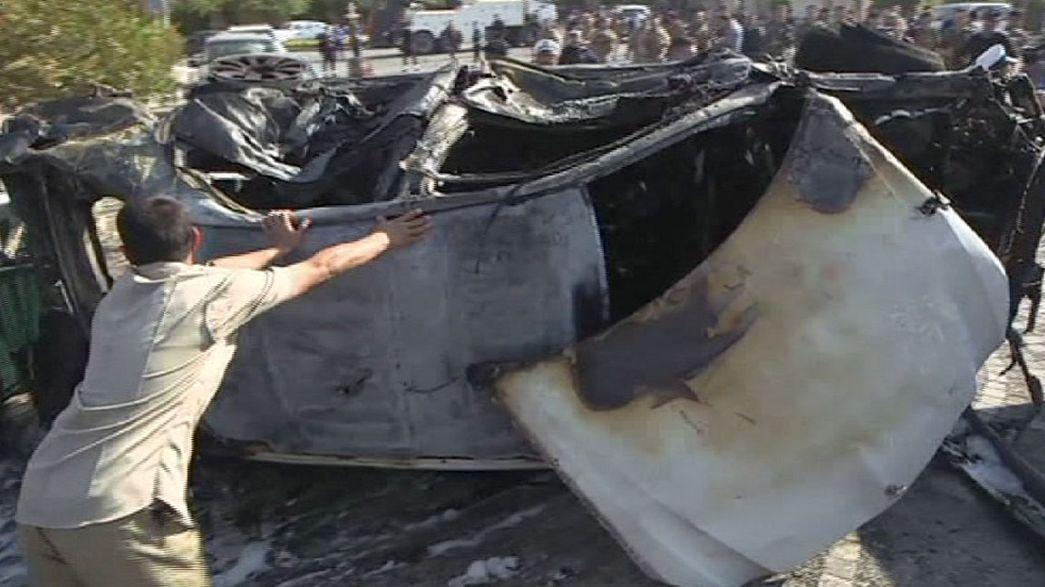 Deadly suicide bomb attack in the capital of Iraq's Kurdistan region