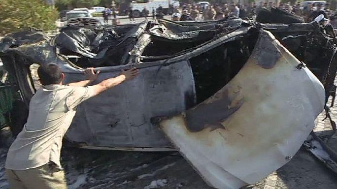 Autóba rejtett bomba gyilkolt az észak-iraki kurd fővárosban