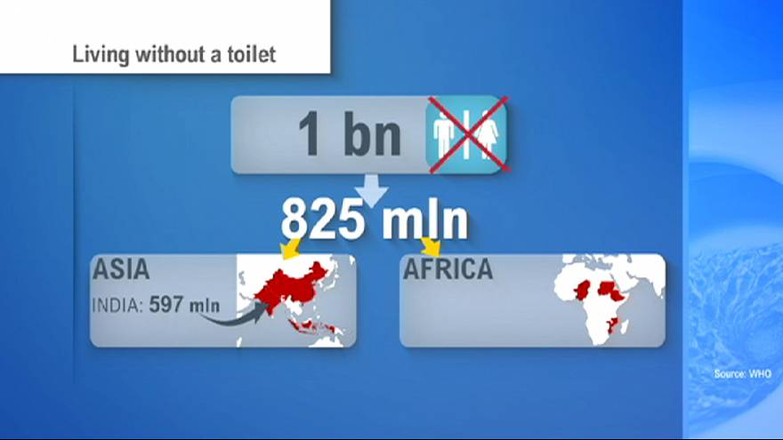 Having no toilets creates disastrous daily death toll