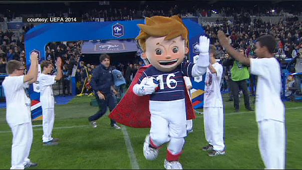 Mascot unveiled for Euro 2016