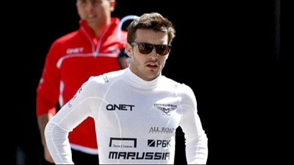 Jules Bianchi va mieux