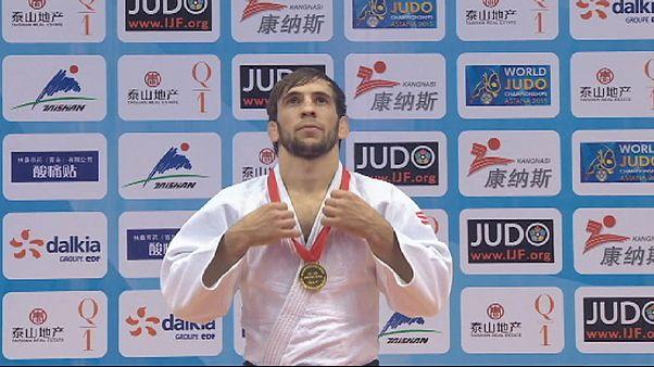 Day one of Judo Grand Prix Qingdao