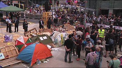 Hongkong: Weitere Protestlager sollen geräumt werden