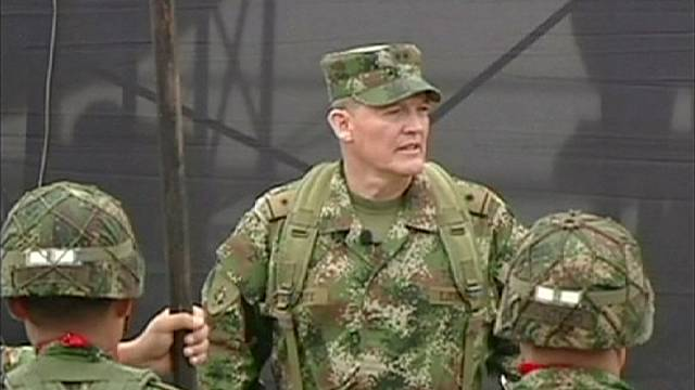 FARC rebels to release captured Colombian general