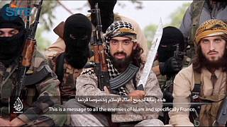 """Jihadistas"" franceses lançam apelo a conterrâneos"