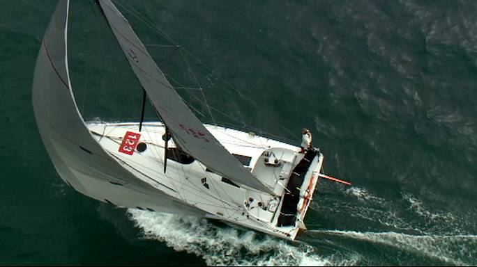 Route du Rhum: Spanish skipper Pella enters record books