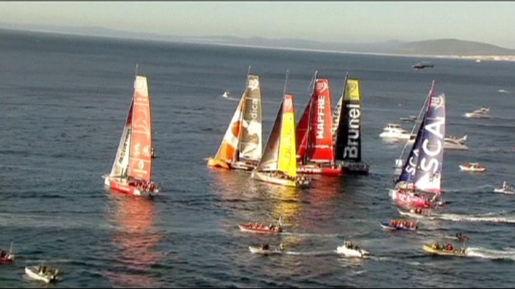 Volvo Ocean Race : départ de la deuxième étape