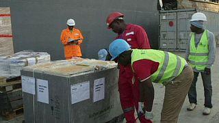 Netherlands sends relief supplies to Ebola-stricken countries